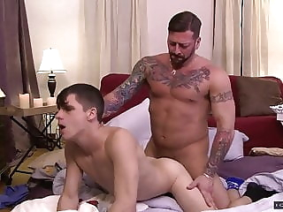 Hugh Hunter and Kory Houston (MHU P4) daddy (gay) hunk (gay) muscle (gay)