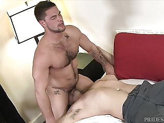 MenOver30 - Aspen's Boner Won't Go Down bareback (gay) big cock (gay) blowjob (gay)
