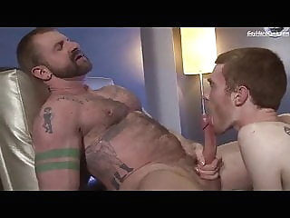Aleks Buldocek and Seamus O'Reilly (HHU P1) daddy (gay) hunk (gay) muscle (gay)