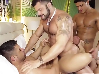Latino Power Fuck big cock bondage blowjob