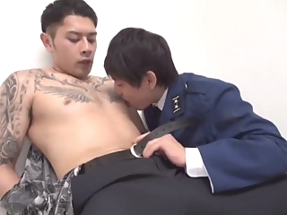 asian cumshot gay