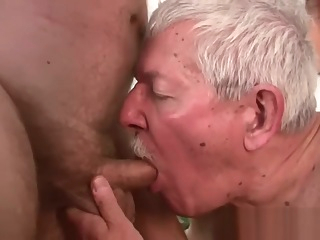 grandpa and grandpa cumshot daddy hd