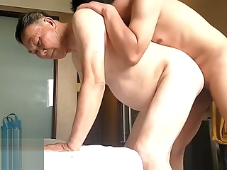 china young son's bisexual fun with old daddy couple 5:17 2019-08-31