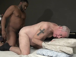 Sexy fat grandpa gay mature daddy