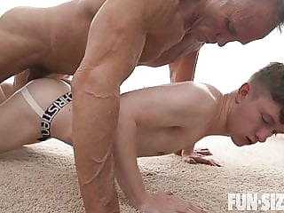 Jonathan and Dallas Steele - Chapter 2 FunSize Boy Workout twink (gay) bareback (gay) blowjob (gay)