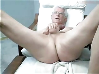 wanking grandpa amateur (gay) big cock (gay) daddy (gay)