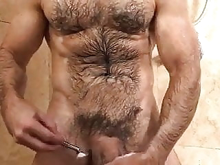 After shave load amateur (gay) bear (gay) big cock (gay)