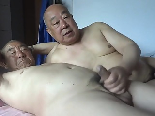 chinese oldman happy big cock amateur hd