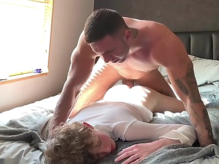 Aa Vid - Cute Blond Twink Boy Morning Fuck amateur hd bareback