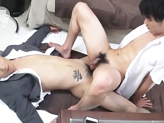 [2019.8.9] Two Japanese boys student study the group and fuck each other 27:21 2019-08-20