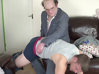 Fabulous homemade gay clip with Fetish, Spanking scenes 17:22 2017-11-24