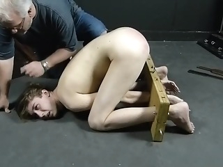 Longhaired Lyon spanked 11:29 2020-02-11
